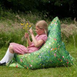 Learn about Nature Summer Meadow Children's Bean Bag Floor Cushion