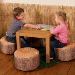 Pack of 3 Learn about Nature Tree Stump Stools
