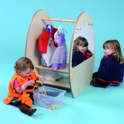 Mini Dress Up Trolley with Clear Trays