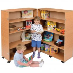 4 Shelf Bookcase – Hinged