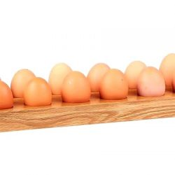 Egg Holder for 12 Eggs Oak