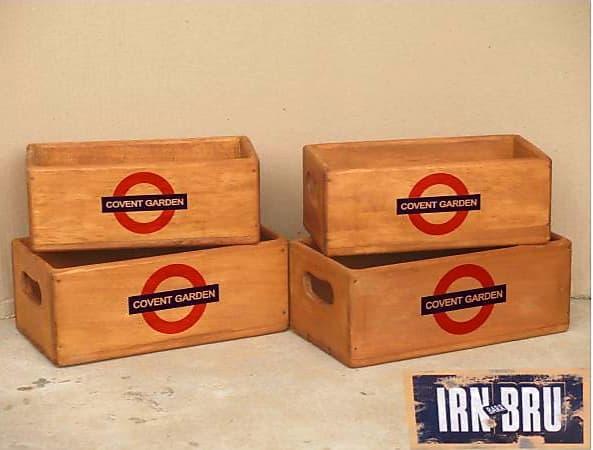Set of boxes Underground