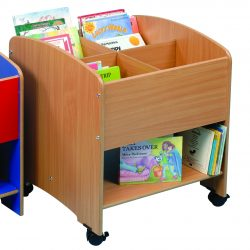 Compartment Kinderbox with Shelf