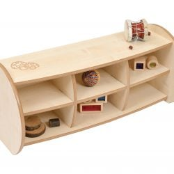 Mini 2 Shelf with Dividers