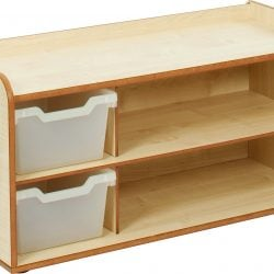 2 Tray & Shelves