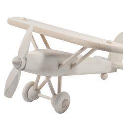 Wooden Light Aircraft with Propeller