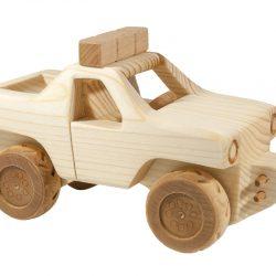 Wooden Car – Super Truck