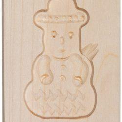 Wooden Mold – Snowman